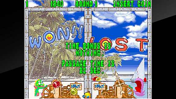 ACA NEOGEO PUZZLE BOBBLE 2 - Screenshot INDEX