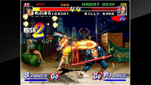 ACA NEOGEO REAL BOUT FATAL FURY Screenshot 2