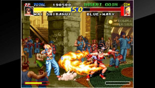 ACA NEOGEO REAL BOUT FATAL FURY Screenshot 3
