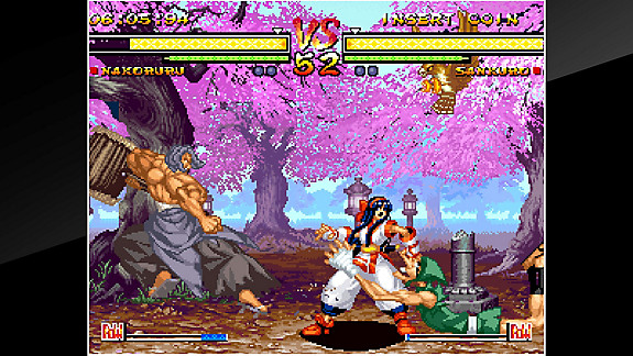 ACA NEOGEO SAMURAI SHODOWN V Game - PS4 - PlayStation