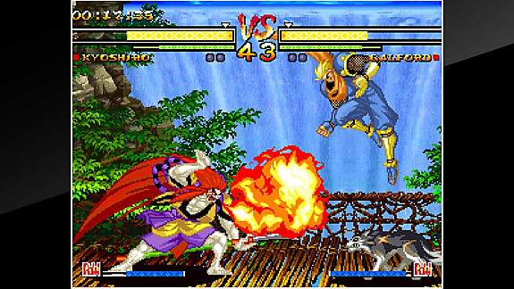 ACA NEOGEO SAMURAI SHODOWN V - Screenshot INDEX