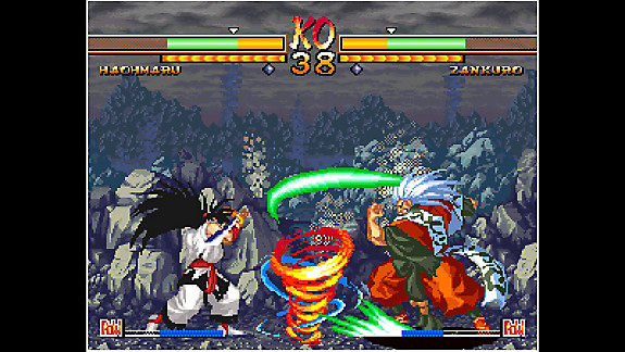 ACA NEOGEO SAMURAI SHODOWN V SPECIAL - Screenshot INDEX