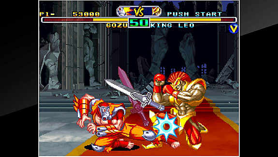 ACA NEOGEO SAVAGE REIGN - Screenshot INDEX