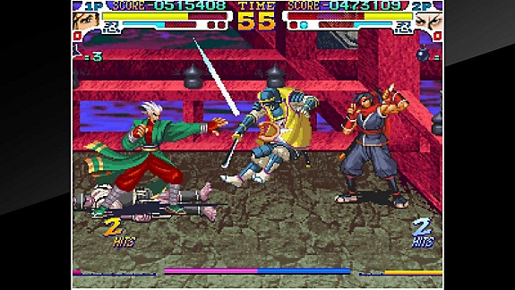 ACA NEOGEO SENGOKU 3 - Screenshot INDEX