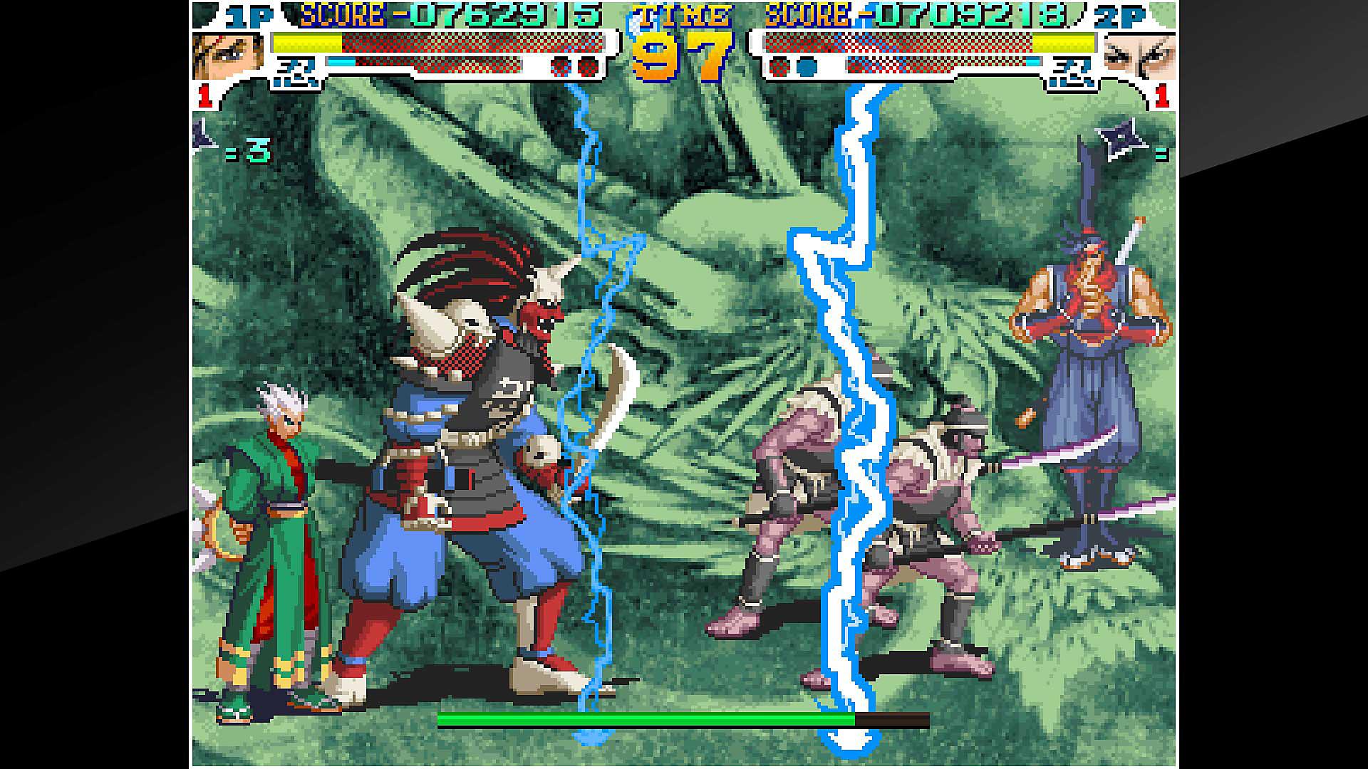 ACA NEOGEO SENGOKU 3 Game | PS4 - PlayStation