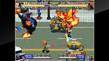 ACA NEOGEO SHOCK TROOPERS 2nd Squad Trailer Screenshot