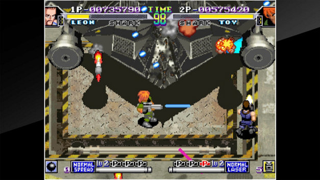 ACA NEOGEO SHOCK TROOPERS 2nd Squad Screenshot 10