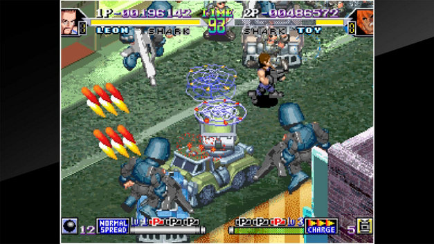 ACA NEOGEO SHOCK TROOPERS 2nd Squad Screenshot 4