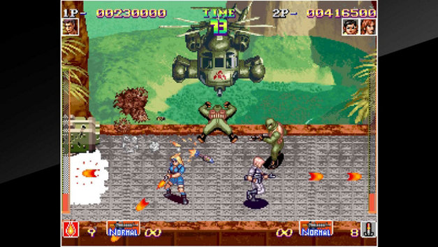ACA NEOGEO SHOCK TROOPERS Screenshot 10