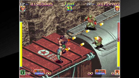 ACA NEOGEO SHOCK TROOPERS Trailer Screenshot