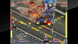 ACA NEOGEO SHOCK TROOPERS Screenshot 2