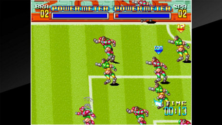 ACA NEOGEO SOCCER BRAWL Trailer Screenshot