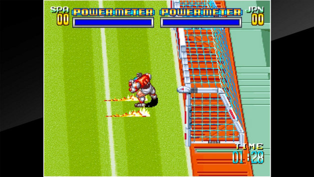 ACA NEOGEO SOCCER BRAWL Screenshot 1