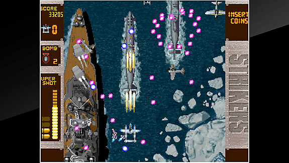 ACA NEOGEO STRIKERS 1945 PLUS - Screenshot INDEX