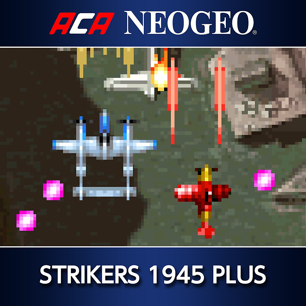 ACA NEOGEO STRIKERS 1945 PLUS Game | PS4 - PlayStation