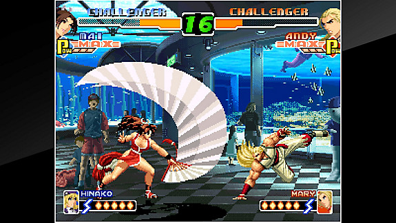 ACA NEOGEO THE KING OF FIGHTERS 2000 - Screenshot INDEX
