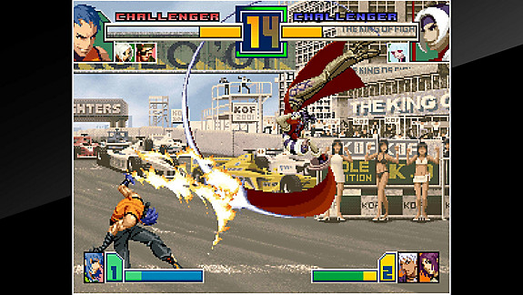 ACA NEOGEO THE KING OF FIGHTERS 2001 - Screenshot INDEX