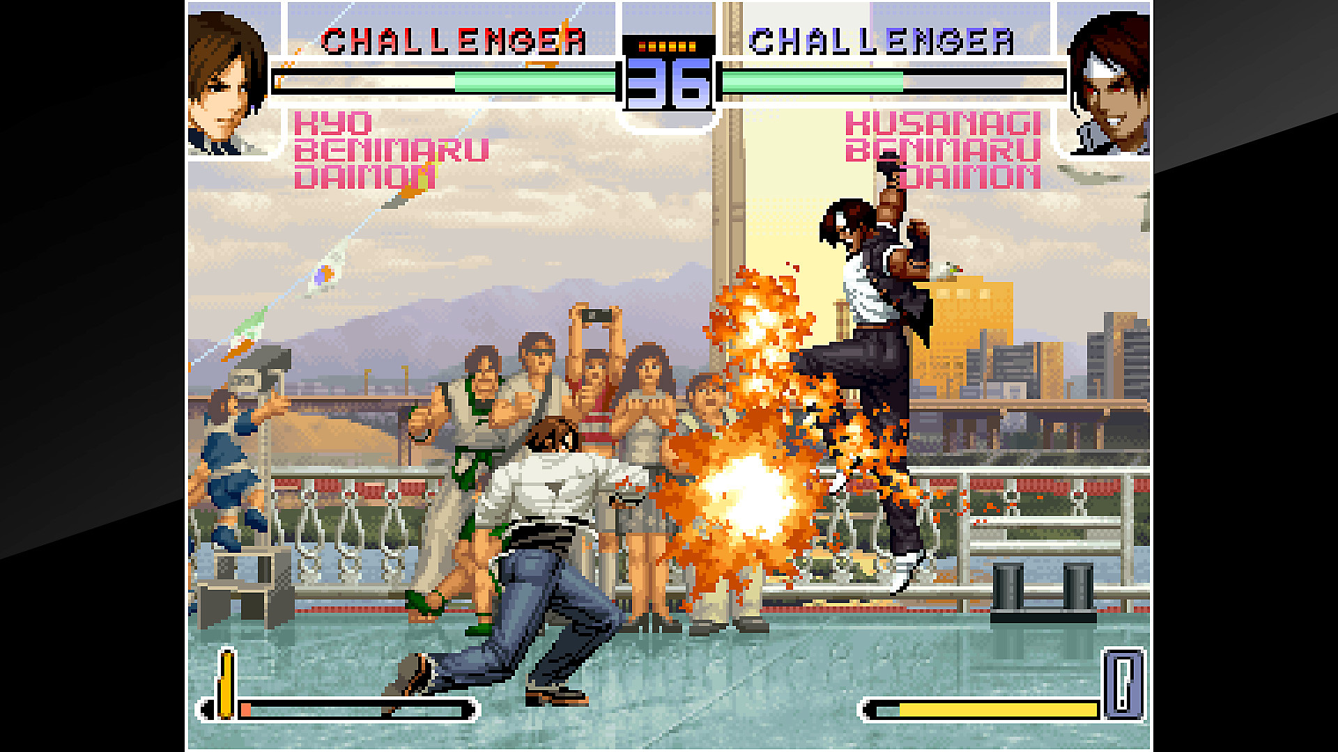 Partida de ACA NEOGEO THE KING OF FIGHTERS 2002