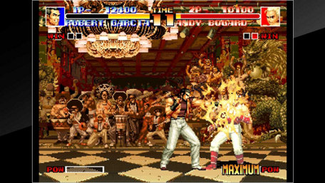 ACA NEOGEO THE KING OF FIGHTERS '94 Trailer Screenshot