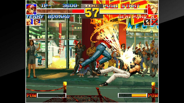 ACA NEOGEO THE KING OF FIGHTERS '95 Screenshot 10