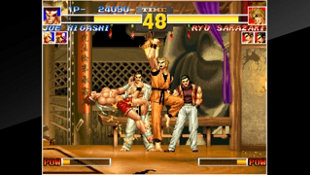 ACA NEOGEO THE KING OF FIGHTERS '95 Screenshot 2