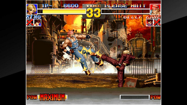 ACA NEOGEO THE KING OF FIGHTERS '95 Screenshot 4
