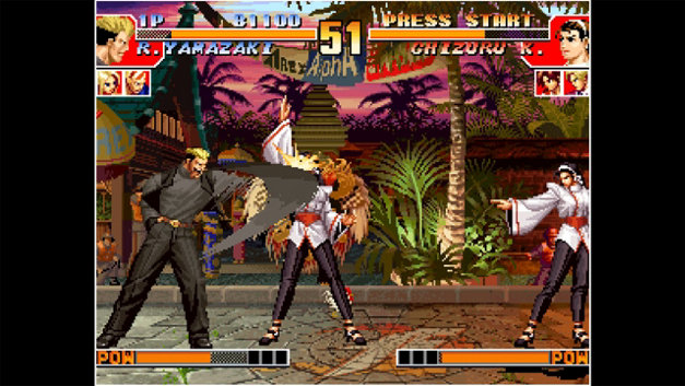 ACA NEOGEO THE KING OF FIGHTERS '97 Screenshot 4