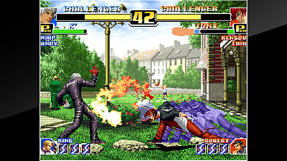 ACA NEOGEO THE KING OF FIGHTERS '99 - Screenshot INDEX