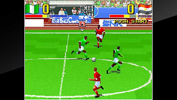 ACA NEOGEO THE ULTIMATE 11: SNK FOOTBALL CHAMPIONSHIP - Screenshot INDEX