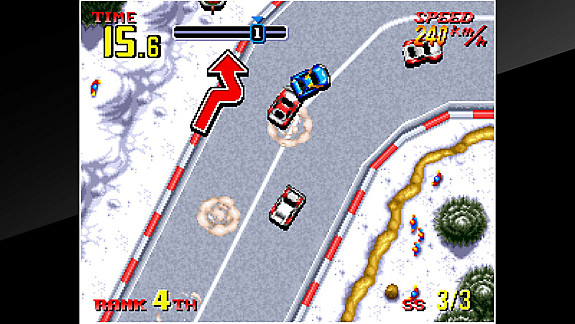 ACA NEOGEO THRASH RALLY - Screenshot INDEX