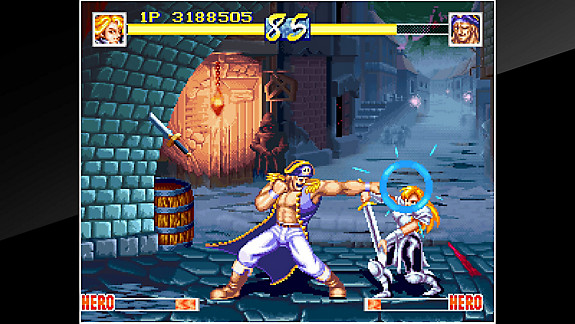 ACA NEOGEO WORLD HEROES PERFECT - Screenshot INDEX