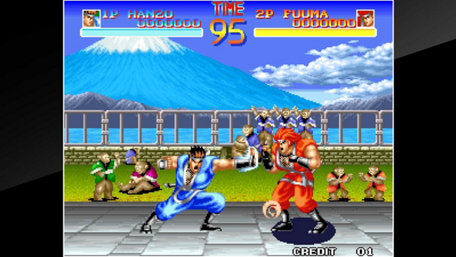 ACA NEOGEO WORLD HEROES Trailer Screenshot