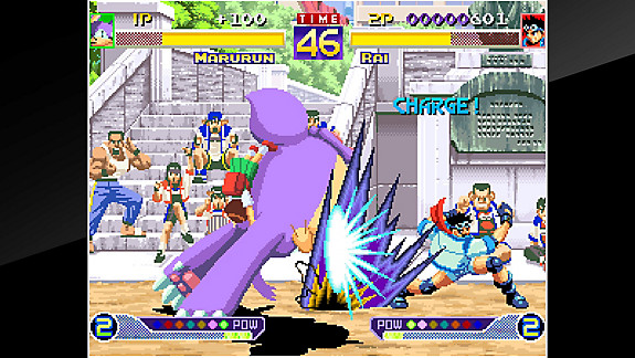 ACA NEOGEO WORLD WAKU WAKU 7 - Screenshot INDEX