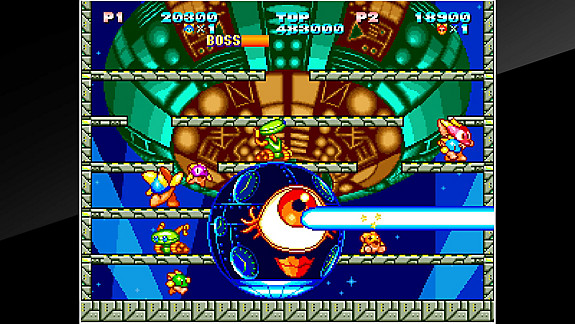 ACA NEOGEO ZUPAPA! - Screenshot INDEX