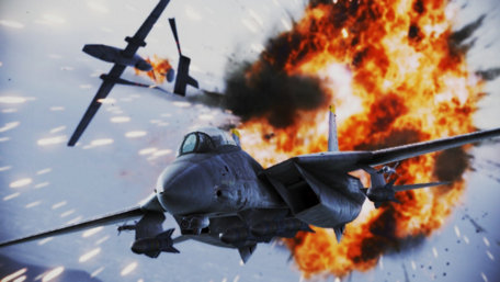Ace Combat Infinity Trailer Screenshot