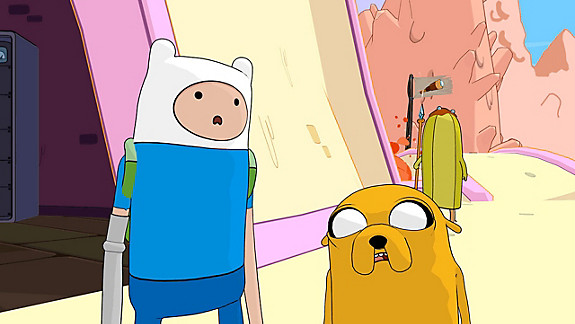Adventure Time Pirates of the Enchiridion - Screenshot INDEX