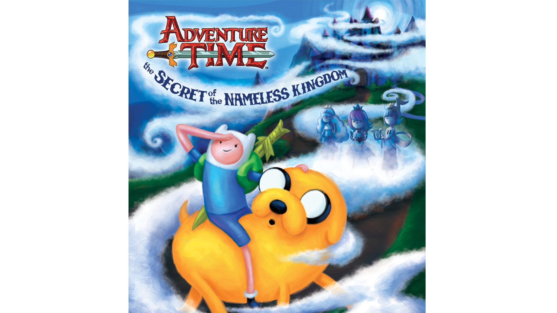 Adventure Time The Secret Of The Nameless Kingdom Game Ps Playstation