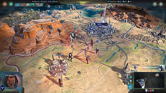 Age of Wonders: Planetfall - Screenshot INDEX