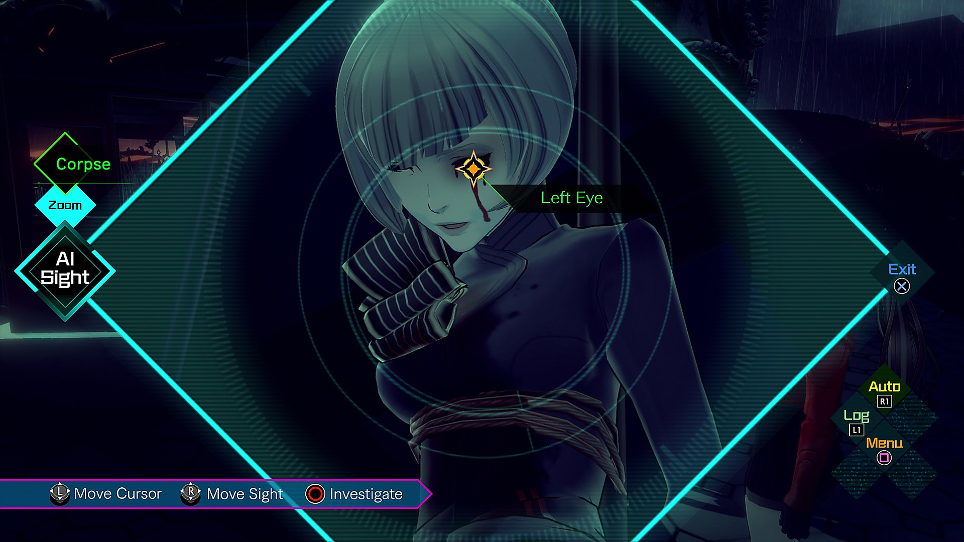 AI: THE SOMNIUM FILE: Investigation