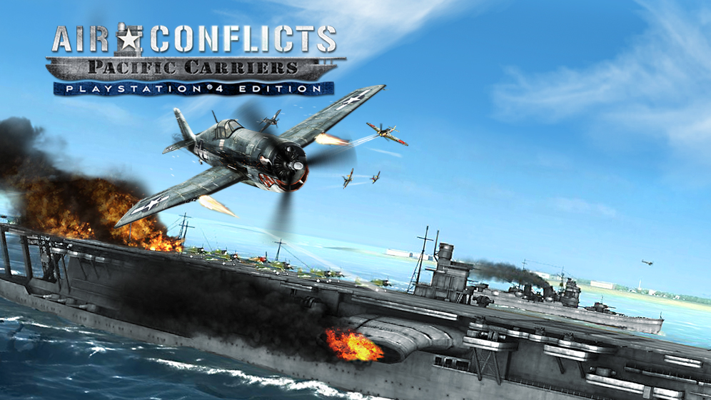 4afdd690b698 Air Conflicts  Pacific Carriers PlayStation 4 Edition Game