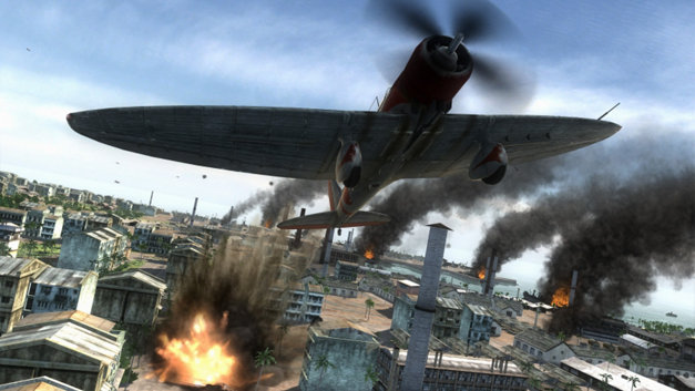 Air Conflicts: Pacific Carriers, Édition PlayStation 4 Screenshot 1