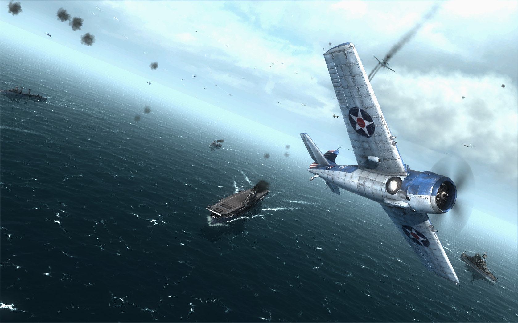 99399e0a6c77 Air Conflicts  Pacific Carriers PlayStation 4 Edition Screenshot 2