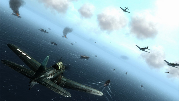 Air Conflicts: Pacific Carriers, Édition PlayStation 4 Screenshot 4
