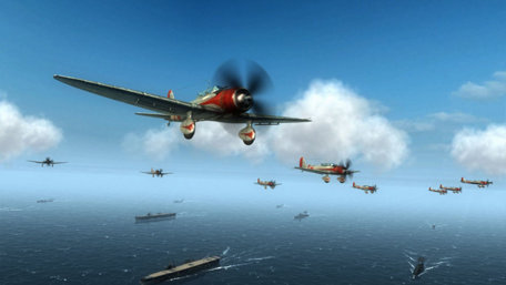 Air Conflicts: Pacific Carriers PlayStation 4 Edition Trailer Screenshot