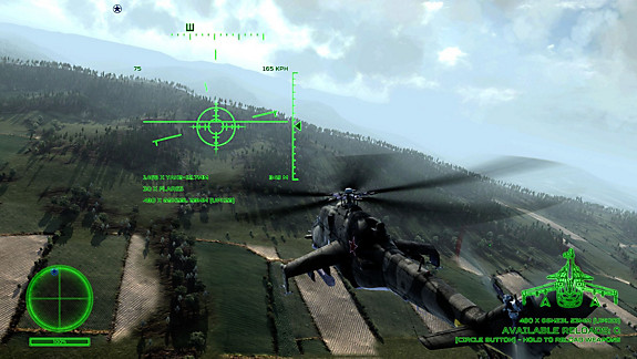 Air Missions: Hind - Screenshot INDEX