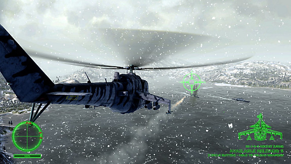 Air Missions: Hind screenshot