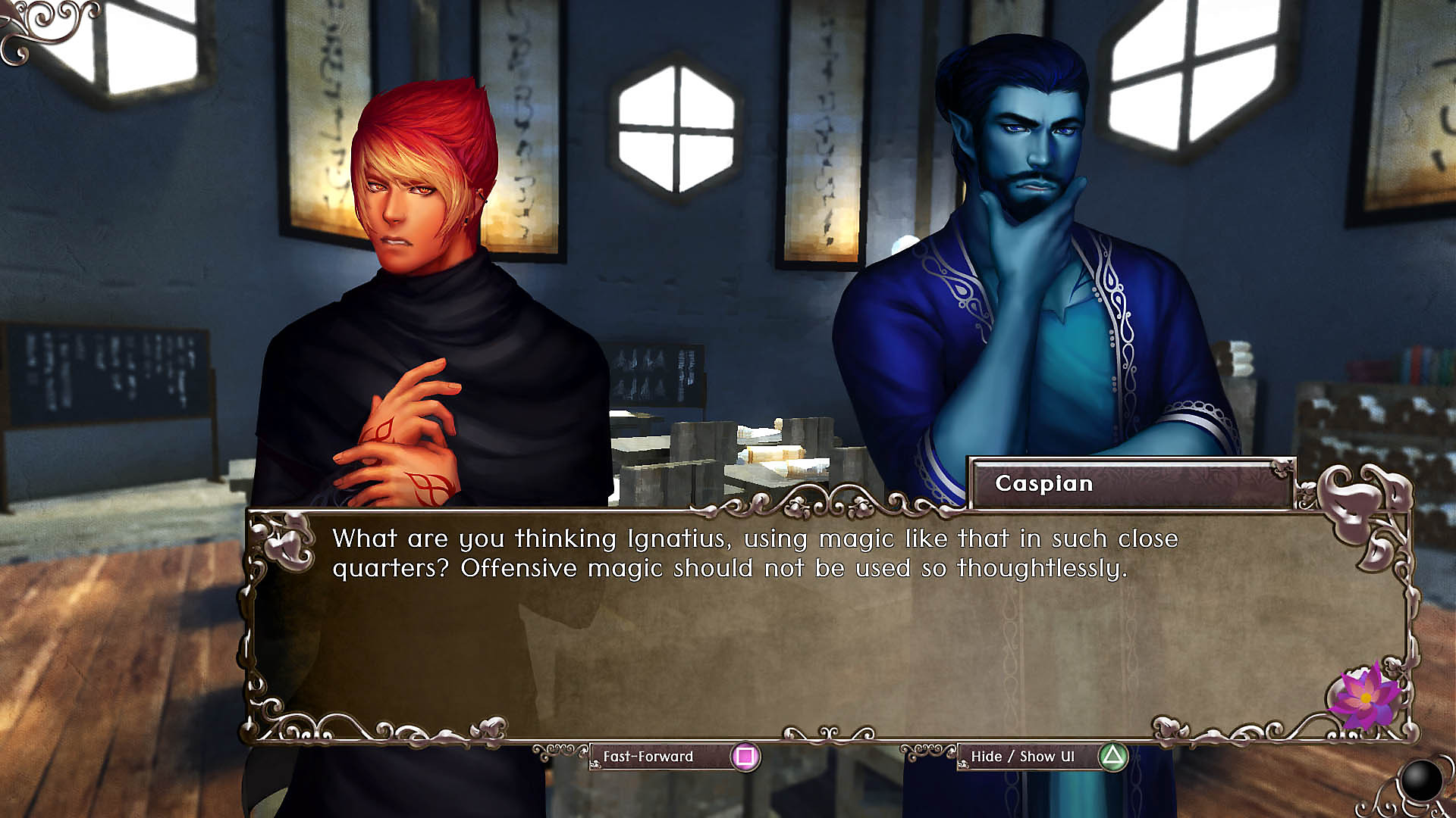 Gameplay dialogue screen 02