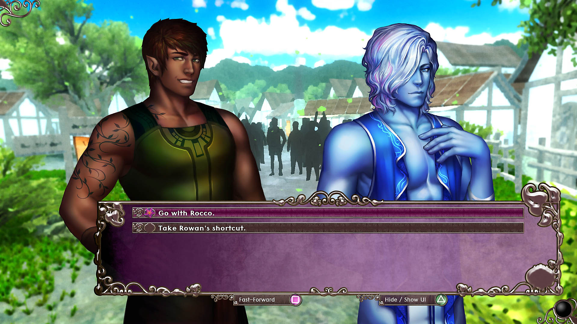 Gameplay dialogue screen