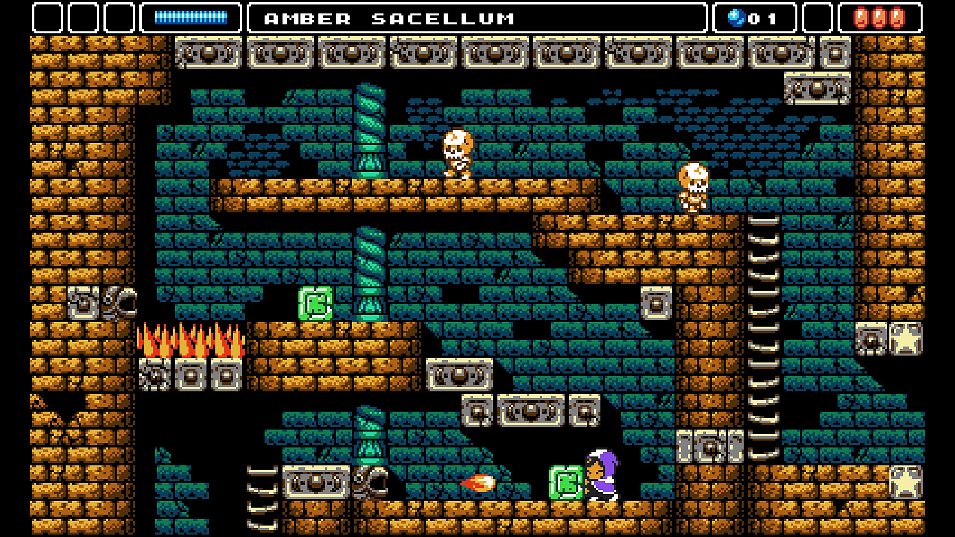 Alwa's Awakening Gameplay