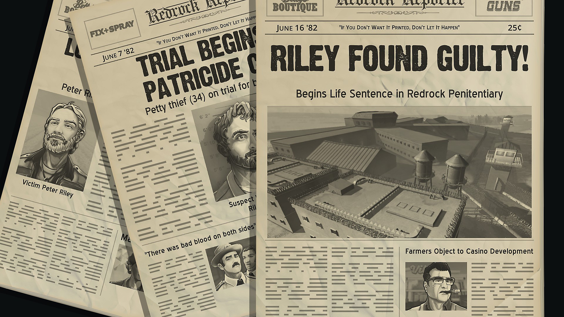 American Fugitive: Riley Found Guilty!